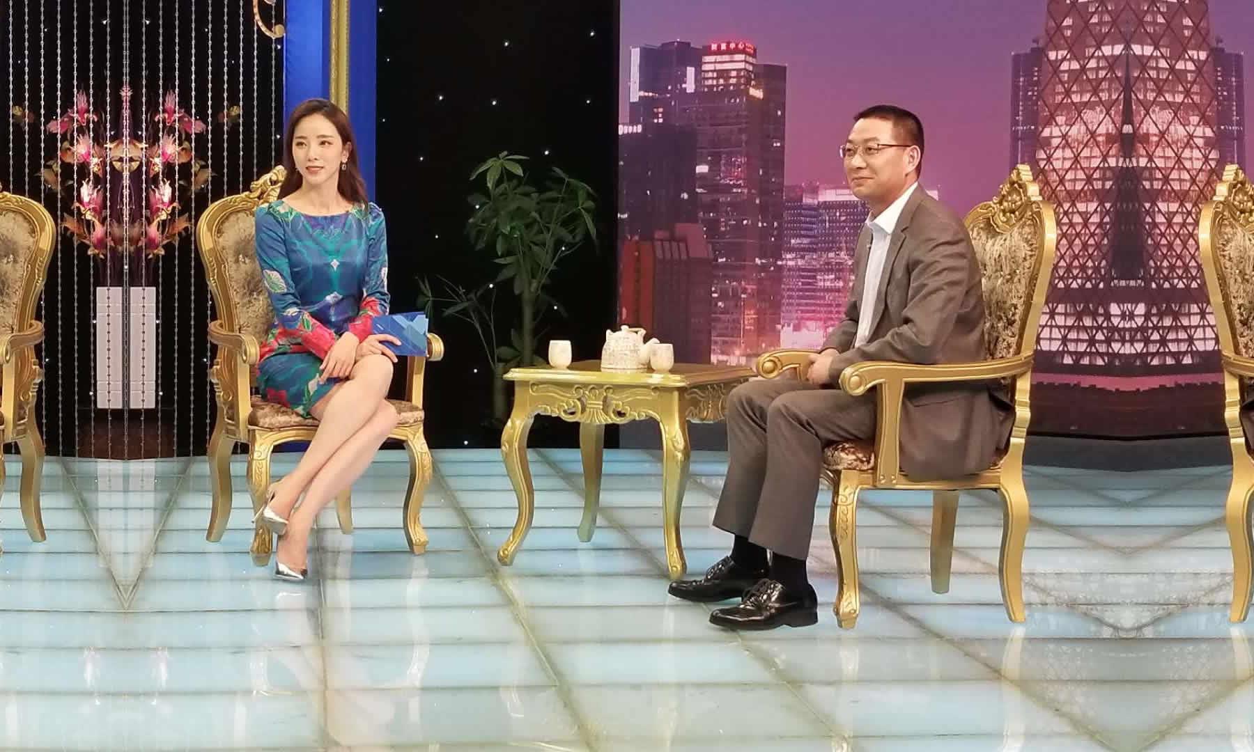 汉得总经理黄益全做客CCTV证券资讯频道《超越》栏目