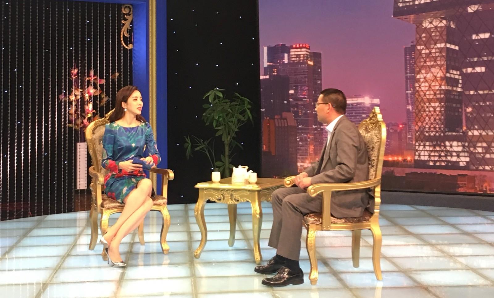 汉得总经理黄益全做客CCTV证券资讯频道《超越》栏目 2