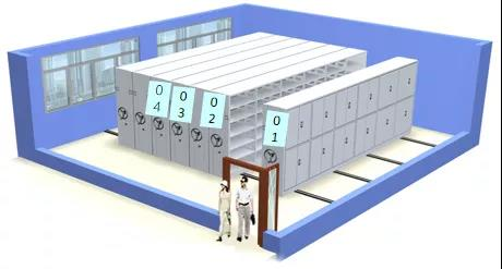 3D虚拟库房示意图 4
